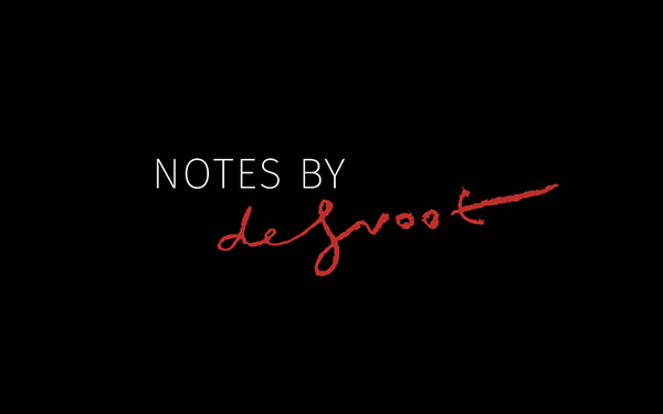 NOTES BY DE GROOT